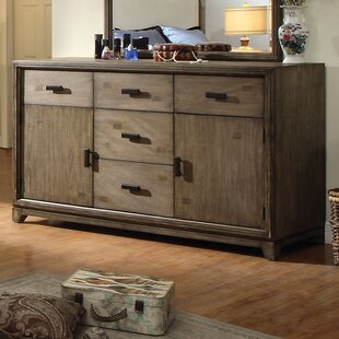 Hokku Designs Karla 5 Drawer Combo Dresser