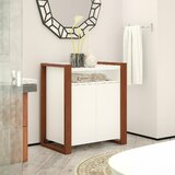 28.58 W x 31.73 H x 17.63 D Free-Standing Bathroom Cabinet by Kathy Ireland Home by Bush Furniture