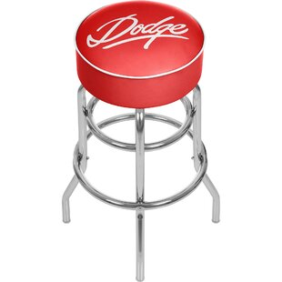 Dodge Signature 31 Swivel Bar Stool by Trademark Global Cheap