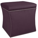 Terrific Purple Ottomans Joss Main Lamtechconsult Wood Chair Design Ideas Lamtechconsultcom