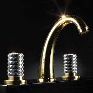 Best Kyros 3 Hole Luxury Widespread Bathroom Faucet ByMaestro Bath