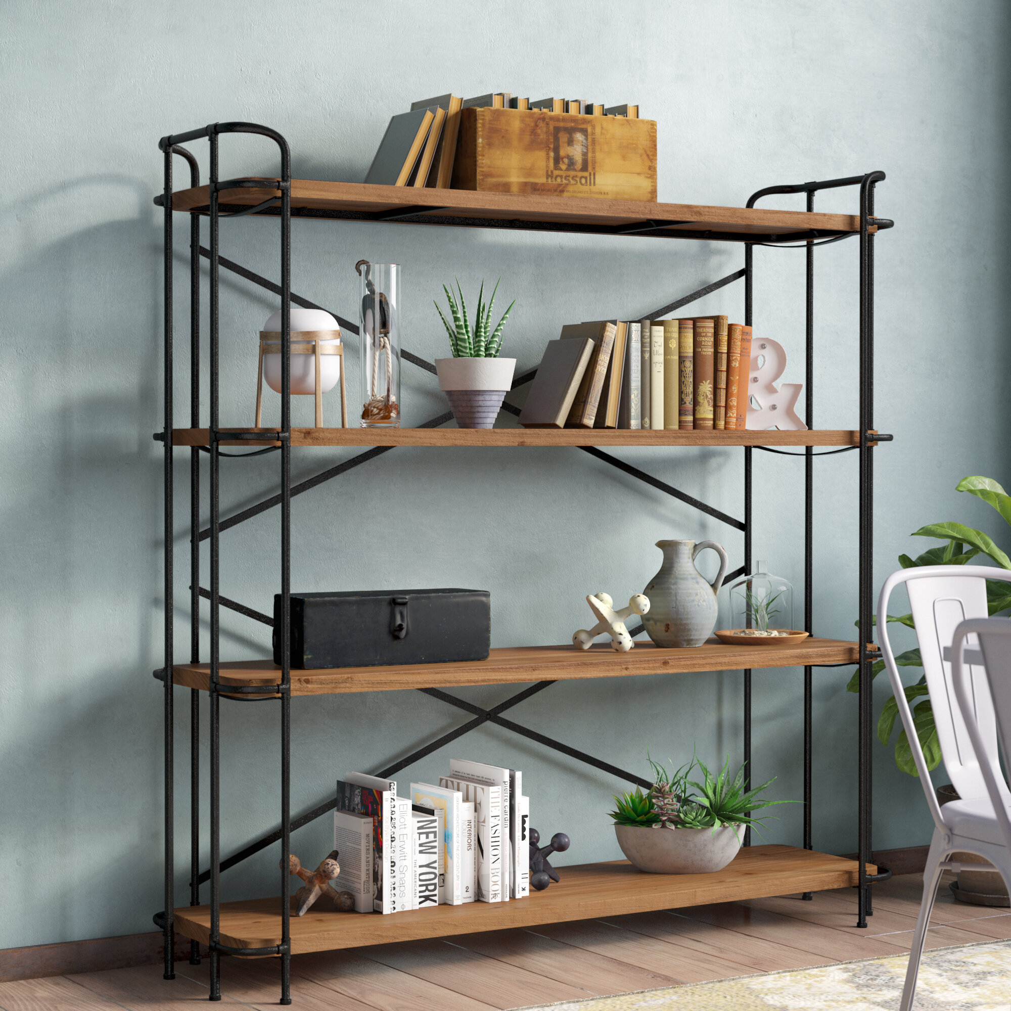 Wayfair   Wide Bookcases greater than 21 inches