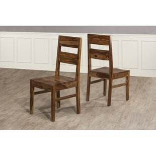 Thomasson Wood Dining Chair (Set of 2) Mistana