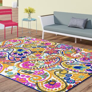 Dorinda Yellow/Pink Area Rug