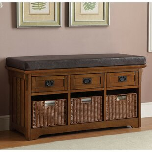 August Grove Acquah Storage Entryway Bench