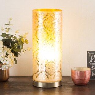 Moroccan lamps wayfair alexus moroccan floral 16 table lamp aloadofball Images