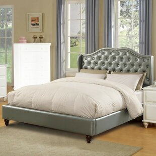 House of Hampton Drowne Upholstered Panel Bed