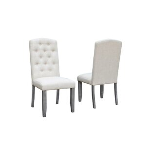 Sawyer Tufted Upholstered Dining Chair (Set of 2) Gracie Oaks