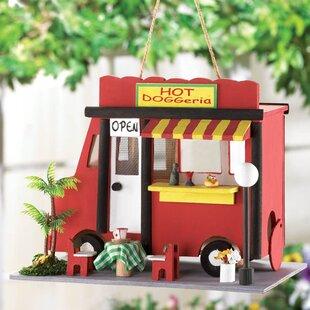Zingz & Thingz Hot Dog 8 in x 10.5 in x 7 in Birdhouse