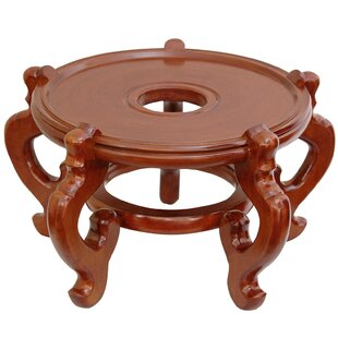 Look for Reddish Honey Wood Fishbowl Stand ByWorld Menagerie