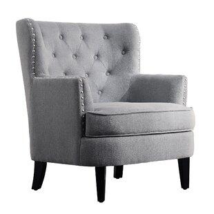 Grey Velvet Accent Chairs