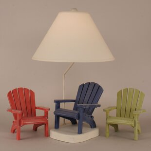 Coastal Living Adirondack Chair 27.5 Table Lamp