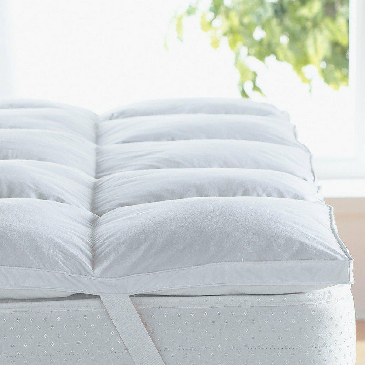 Alwyn Home Gerstner Thick Hypoallergenic 2 Down Alternative Bed Mattress Topper Reviews Wayfair