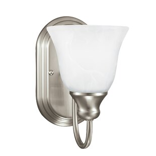 Brant 1-Light Bath Sconce by W..