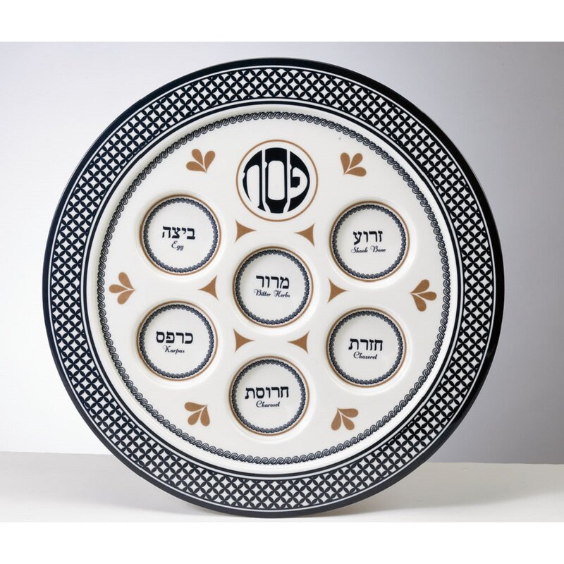 Ultimate Classic Passover Seder Plate