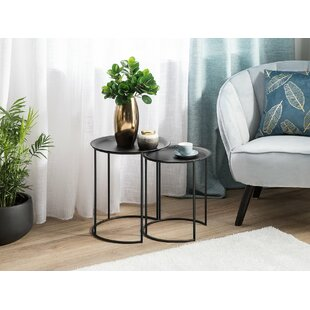 Seadrift 2 Piece Nesting Tables by Gracie Oaks
