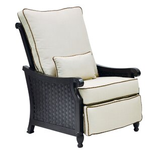 Jakarta 3 Position Recliner Patio Chair with Cushions