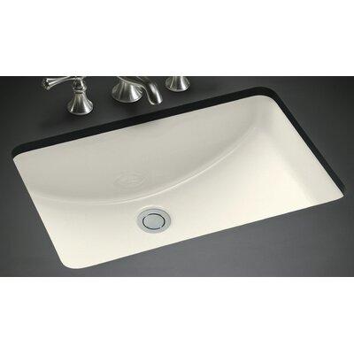 american imaginations rectangular undermount bathroom sink with overflow