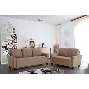 Glasser 2 Piece Living Room Set by Charlton Home