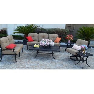 Three Posts Sidney 6 Piece Sunbrella Sofa..