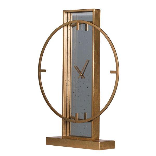 Art Deco Table Clock Wayfair