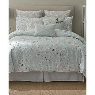 Anthea 100% Cotton 4 Piece Comforter Set by Sanderson