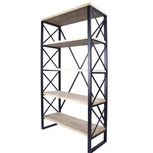 Find the perfect Hogansville 5-Shelf Standard Bookcase by Foundry Select