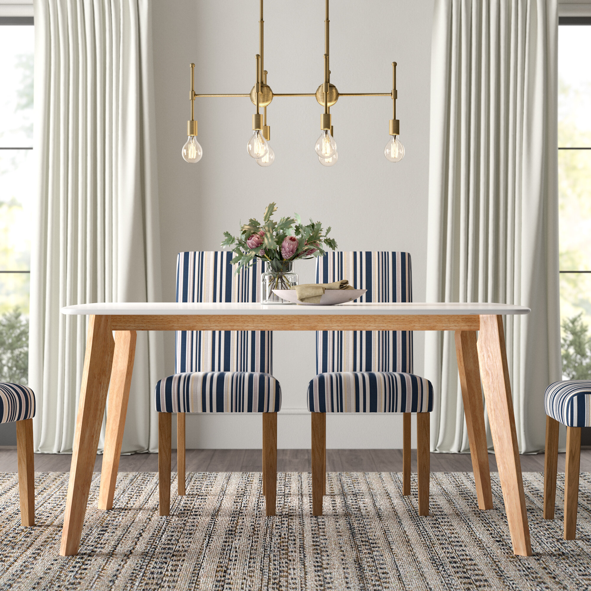 Modern Dining Table With Leaf