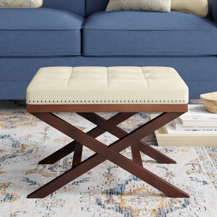 Brilliant Lewiston Tufted Ottoman Andrewgaddart Wooden Chair Designs For Living Room Andrewgaddartcom