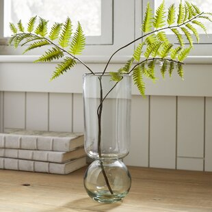 Nolasco Recycled Glass Bulb Table Vase