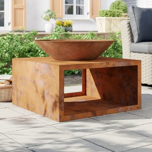 Brenden Steel Wood Burning Fire Pit By Sol 72 Outdoor