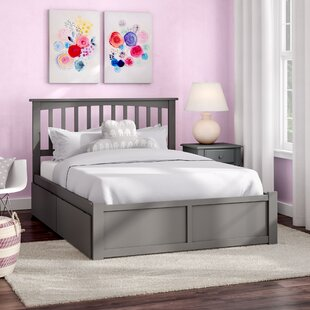 Reid Full Platform Bed with Drawers