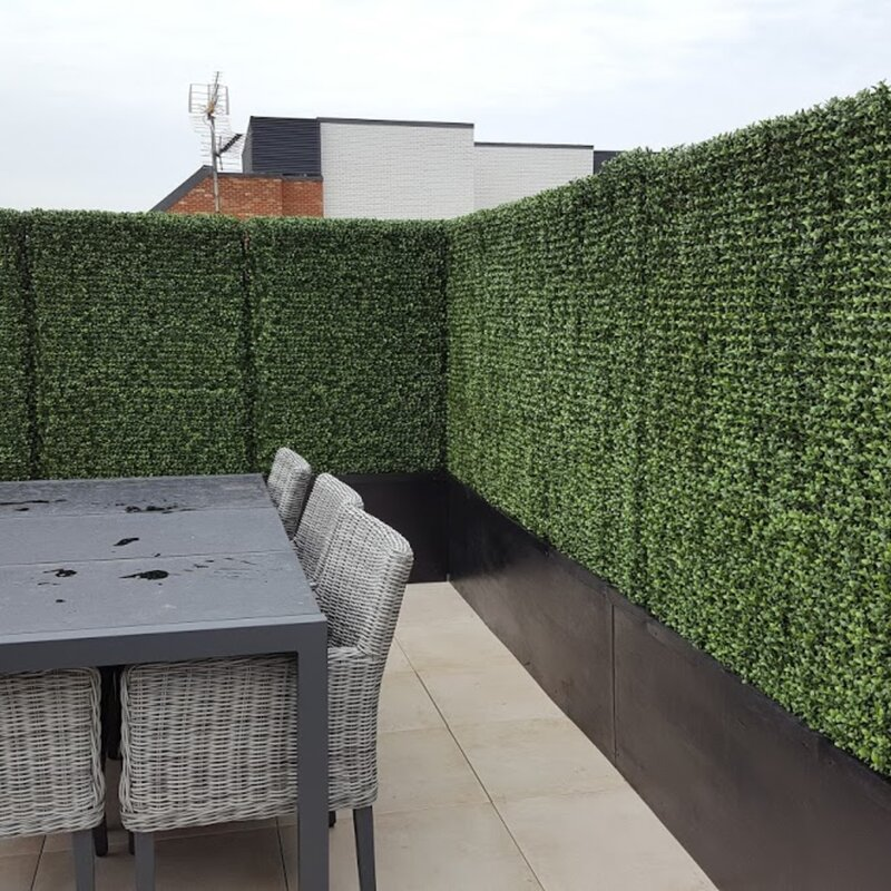 E Joy 1 6 Ft H X 1 6 Ft W Polyethylene Fence Panel Reviews Wayfair