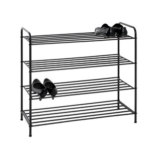 16 Pair Shoe Rack By August Grove