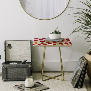 Amy Sia Strawberry Fruit End Table