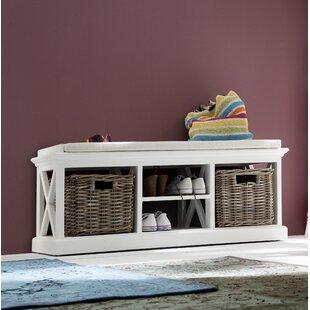 Beachcrest Home Sroda Storage Bench