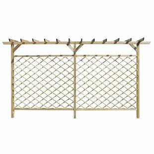 Pergola Top Wood Lattice Panel Trellis Image