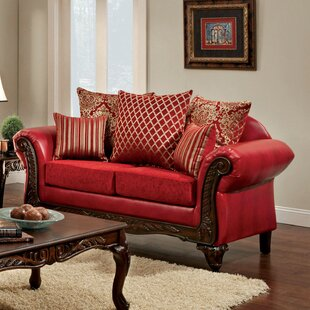 Reviews Clayson Pillow Back Loveseat by Astoria Grand Reviews (2019) & Buyer's Guide