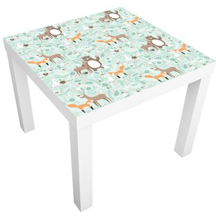 Drumnasole Forest Friends With Forest Animals Children's Table By Zoomie Kids