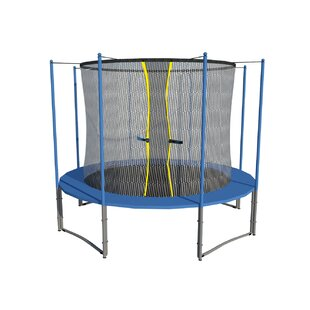 Newacme LLC 12' Trampoline with Inner Enclosure Net