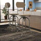 Doliver Adjustable Height Swivel Bar Stool (Set of 2) by Trent Austin Design®