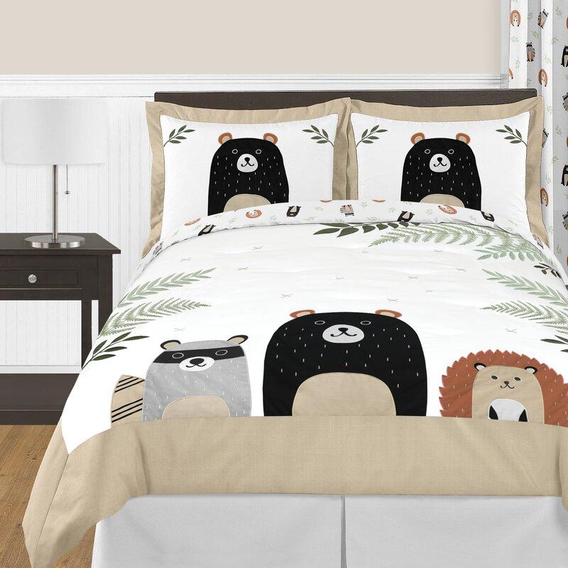 Sweet Jojo Designs The Woodland Pals Comforter Set Wayfair