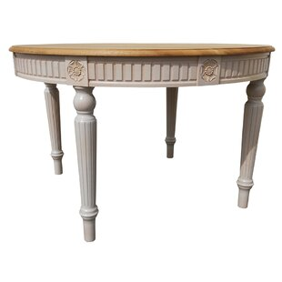 Felicien Solid Wood Dining Table by One Allium Way Sale