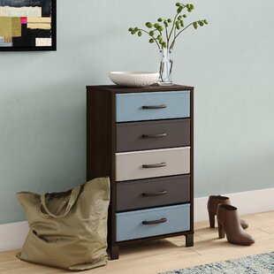 Langevine Storage Stand 5 Drawer Accent Chest