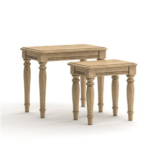 Nate 2 Piece Nest Of Tables By August Grove