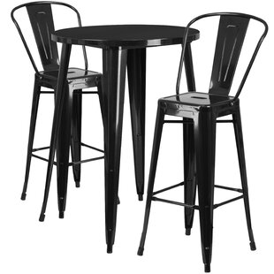 Austell 3 Piece Bar Height Dining Set by ..