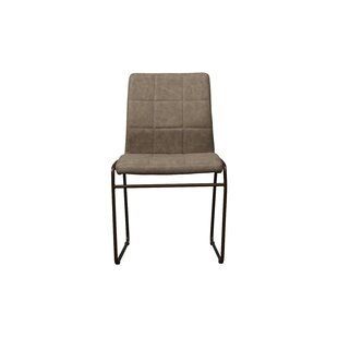 Vada Eco-Leather Upholstered Dining Chair (Set of 2)