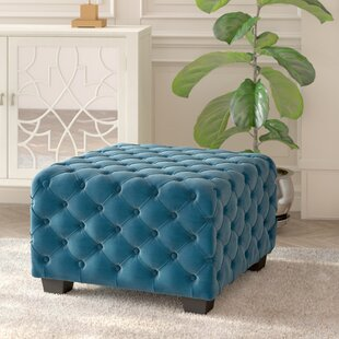 Crane Tufted Cocktail Ottoman