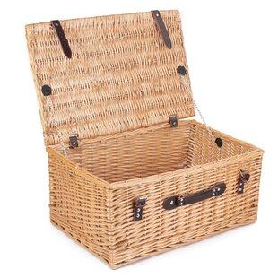 Buff Empty Picnic Basket By Brambly Cottage