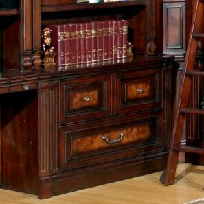 Astoria Grand Blackmoor Library 2-Drawer Lateral File